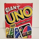 Buy GIANT UNO PLAYING CARDS NEW NIB