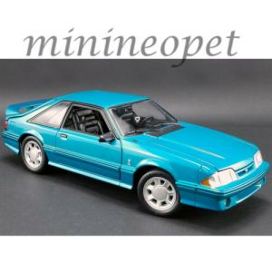 Buy GMP 18923 1993 FORD MUSTANG COBRA 1/18 DIECAST MODEL CAR TEAL