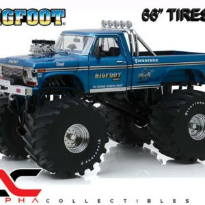 "Buy GREENLIGHT 13541 1:18 1974 FORD F250 BIGFOOT #1 66"" TIRES MONSTER TRUCK"