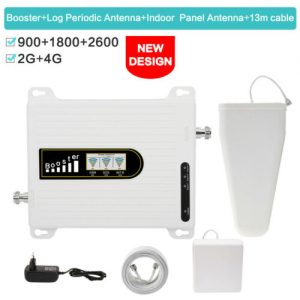 Buy GSM900 LTE 1800 LTE 2600 Cellphone Signal Repeater 2G/4G Signal Repeater Booster