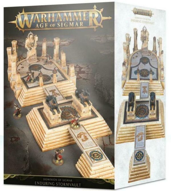 Buy GW AoS 28mm Dominion of Sigmar - The Enduring Stormvault Box SW