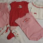 Buy GYMBOREE 3-6 Month Sweeter Than Candy Bodysuit Romper Dress Sweater Socks Set