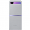 Buy Genuine Samsung Galaxy Z Flip Gray Leather Case Cover Premium Quality EF-VF700