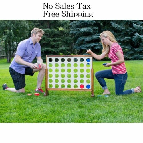 Buy Giant Connect 4 In A Row Jumbo Game Toys Kids Adults Teens Yard Oversized Games