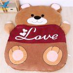Buy Giant Plush Stuffed Cartoon Love Bear Sofa Sleeping Bed Sleeping Carpet Cushion