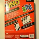 Buy Giant UNO Playing Cards Family Party Fun Games Friends Jumbo King Size Card Game