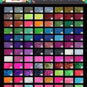 Buy Glitter 96 jar High quality LNS acrylic nail glitter 1oz