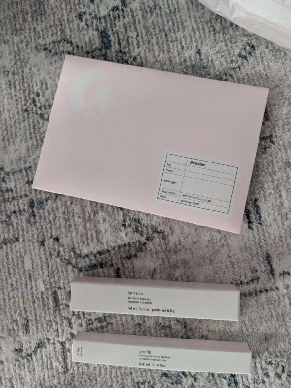 Buy Glossier Hoodie size XS, Stickers, Sample and more