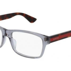 Buy Gucci GG0006OA 004 ROUND OVAL GREY DEMO LENS 55 mm Men's Eyeglasses