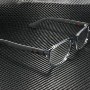 Buy Gucci GG0011O 003 RECTANGULAR SQUARE GREY DEMO LENS 53 mm Men's Eyeglasses