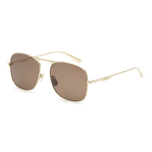 Buy Gucci GG0335S-001 58 Men's Metal Sunglasses