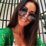 Buy Gucci Men's / Women's  Sunglasses GG0106S Green Red Gold Grey 007 New
