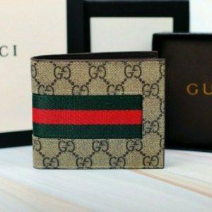 Buy Gucci Print Men's Bifold Wallet New