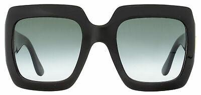 Buy Gucci Square Sunglasses GG0053S 001 Black 54mm 0053