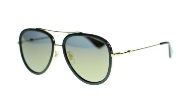 Buy Gucci Women Aviator Sunglasses GG0062S Metal Frame 57mm Authentic