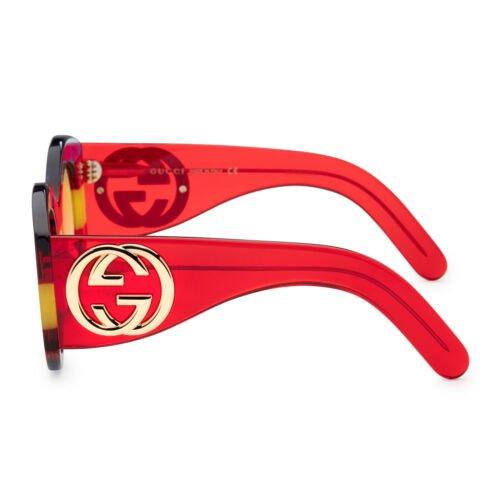 Buy Gucci Women's Core GG0177S-002 Women's 51mm Yellow Lens Sunglasses