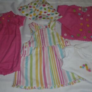 Buy Gymboree Snuggle Bug 6-12 Month Sweater Romper Bodysuit Hat Dress Outfit NWT
