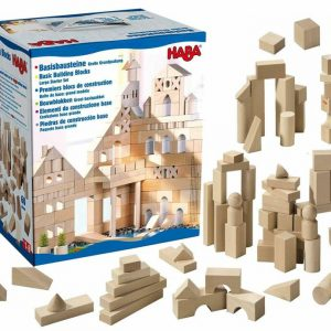 Buy HABA Basic Building Blocks 60 Piece Large Starter Set (Made in Germany)