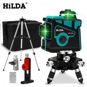 Buy HILDA Laser Level 12 Lines 3D Level Self-Leveling 360 Horizontal And Vertical