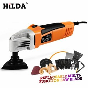 Buy HILDA Renovator Multi Tools Electric Multifunction Oscillating Tool Kit