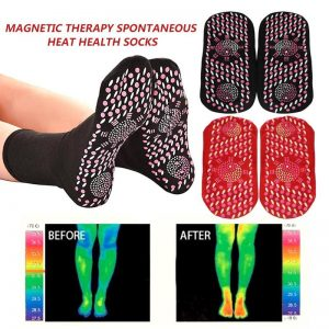 Buy New Magnetic Socks Therapy Comfortable Self-Heating Health Care Socks Tourmaline Breathable Massager Winter Warm Foot Care Socks
