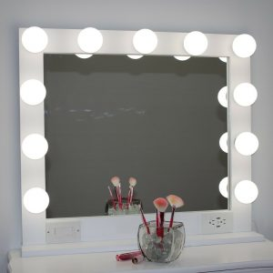 Buy HOLLYWOOD STYLE LIGHTED VANITY MAKEUP MIRROR, 32 x 28
