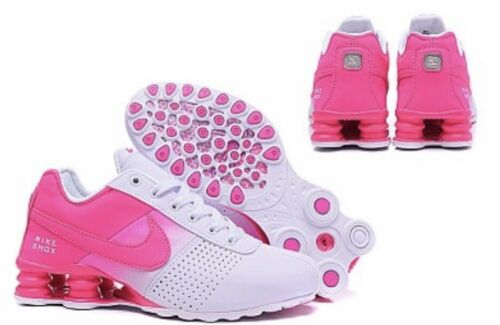 Buy HOT NEW WOMENS Nike Shox Deliver Running Shoes Pink/White
