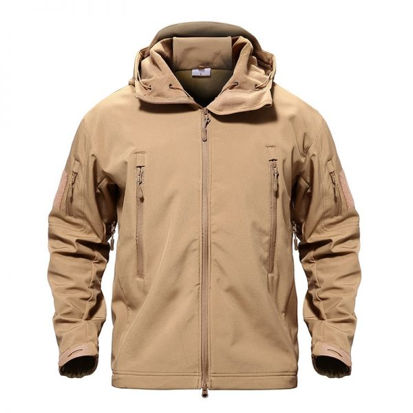 Buy TACVASEN Army Camouflage Men Jacket Coat Military Tactical Jacket Winter Waterproof Soft Shell Jackets Windbreaker Hunt Clothes