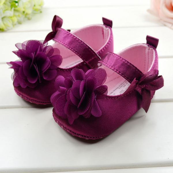 Buy Baby Shoes Toddler Girl First Walkers Toddler Shoes Boots Multi-color Dot Bow Soft Sole Shoes for Girls Children's Shoes