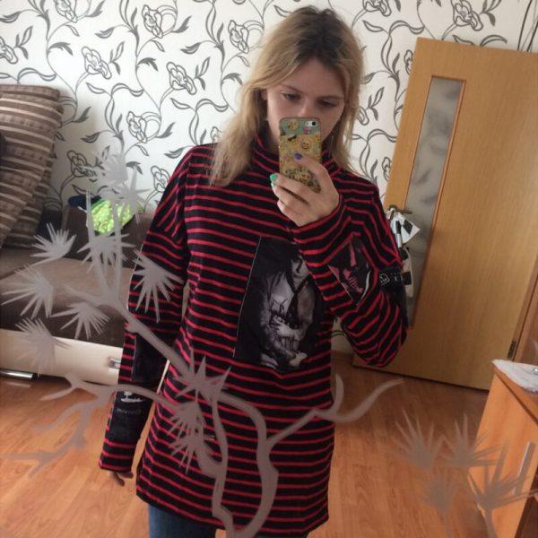 Buy ALLKPOPER Kpop SUGA Sweatershirt Bigbang GD G-Dragon Sweatershirts Pullover Striped Hoodie Jumper Gift ( Suga Necklace)