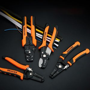 Buy Cable Wire Stripper Cutter Crimper High Quality Automatic Multifunctional Crimping Plier Tools Stock in RU,ES,US