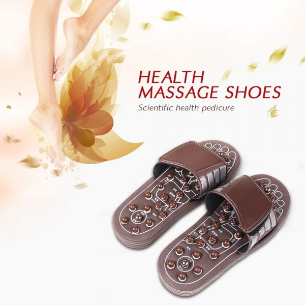 Buy Women Slippers Foot Care Slimming Body Gel Sandal Therapy Acupressure Massaging Cushion Foot Massager Magnetic Shoes