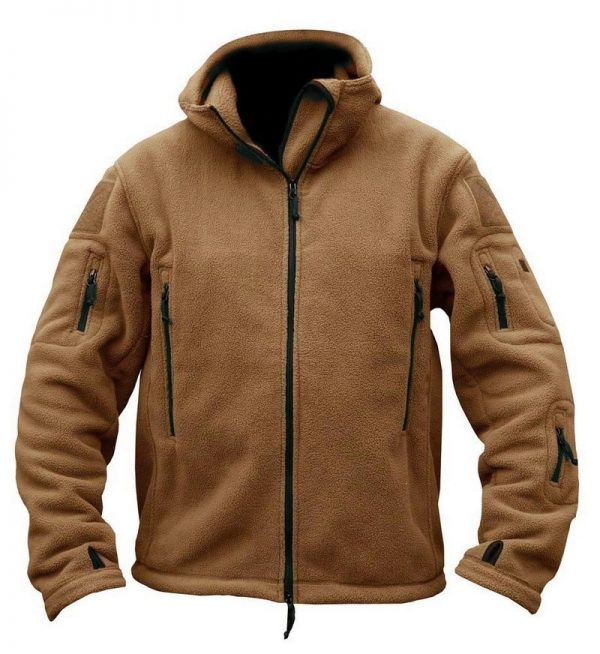 Buy TACVASEN Winter Military Fleece Jacket Men Army Airsoft Tactical Jacket Navy Thermal Hooded Jacket Coat Outerwear Clothing Men