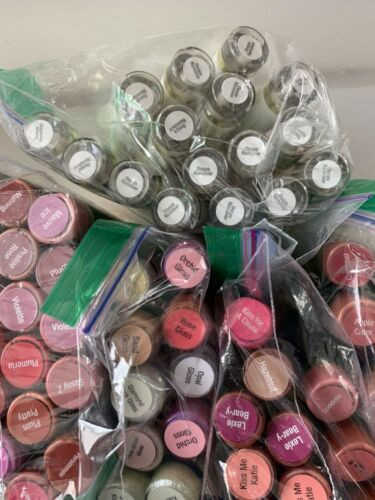 Buy HUGE LOT of 68 LipSense Full Size Colors and Glosses ~ New & Sealed ~Ships FREE!
