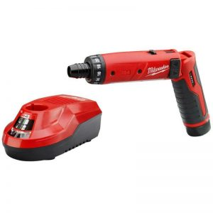 Buy Milwaukee Electric Screwdriver 1/4 in. 4V Lithium-Ion Cordless Battery Charger