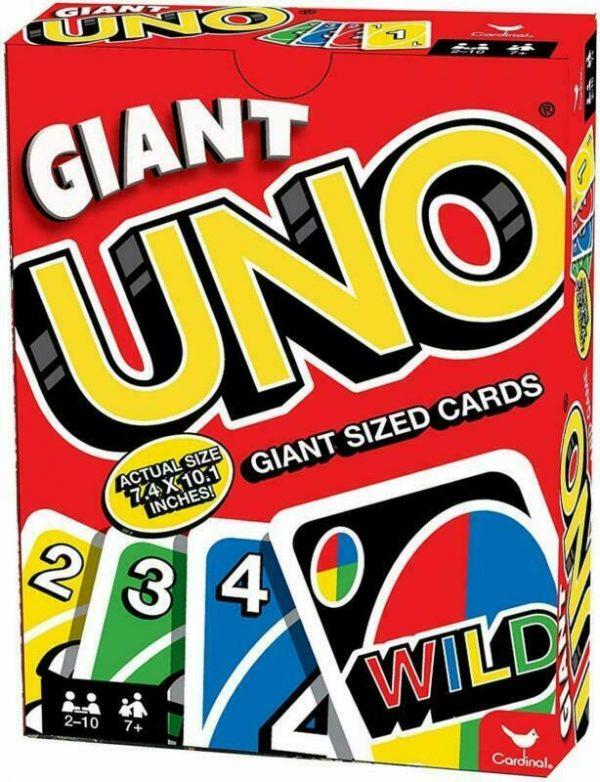 Buy High Quality Cardinal Games Giant Uno Huge Big Fun Playing Cards Kids Adult New