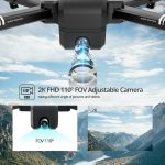 Buy Holy Stone HS550 GPS drone with 2K camera brushless foldable 5G WiFi FPV selfie