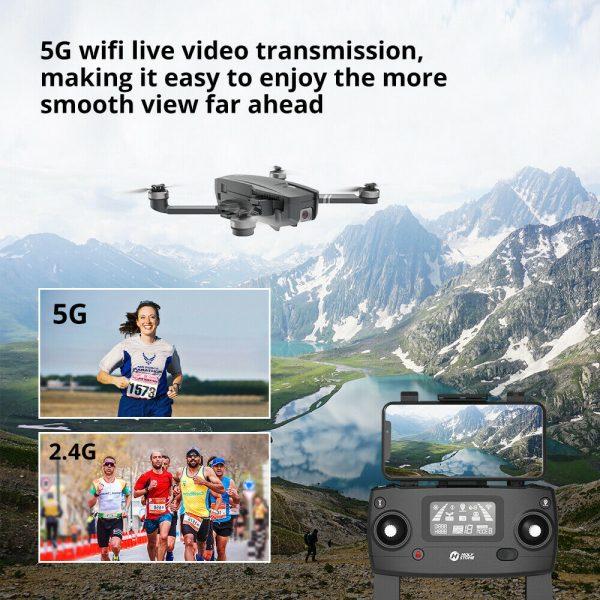 Buy Holy Stone HS720 GPS drone with 2K camera brushless foldable 2 battery case 5G