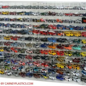 Buy Hot Wheels Diecast Display Case 144 CAR 1:64 Fits Redlines