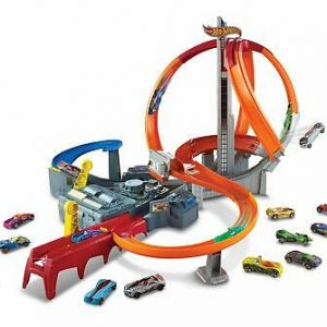 Buy Hot Wheels Spin Storm Track Set Exclusive