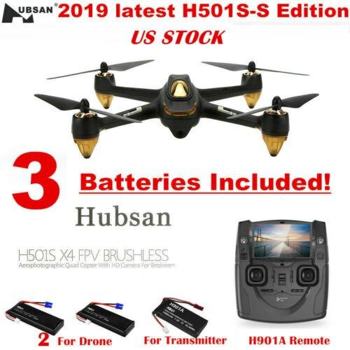 Buy Hubsan X4 H501S S Drone FPV RC Quadcopter 1080P HD Follow Me Auto-Return GPS USA