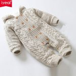 Buy IYEAL Thick Warm Infant Baby Rompers Winter Clothes Newborn Baby Boy Girl