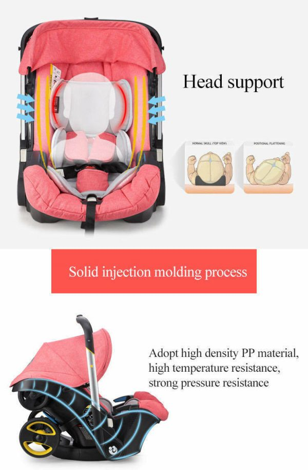 Buy Infant Car Seat Stroller Combos 4 in 1 for new born, light weight for travel