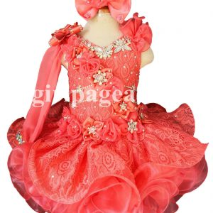 Buy Infant Toddler Baby Newborn Little Girl's Pageant Dress G286