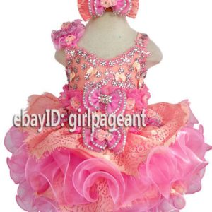 Buy Infant/toddler/baby/girl Lace Dress  G274 available from 9-12months to size 5T