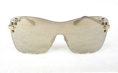 Buy JIMMY CHOO Women's Sunglass MASK/S 99-0-135 Shield with Studs MADE IN ITALY-New!