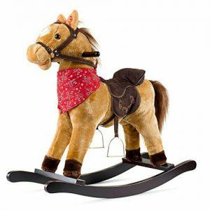 Buy JOON Cowboy Rocking Horse - Tan Brown