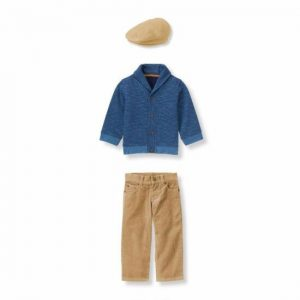 """Buy Janie and Jack Boy """"Countryside Classic""""sweater/pants/cap 4 Pc Set Size 3-6"""