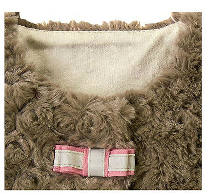 "Buy Janie and Jack baby girl ""All in Bow""Dress/Sherpa Vest/Tights/ 5 pc Set 12-18m"