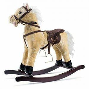 Buy Joon Rocking Horse Pony, Beige